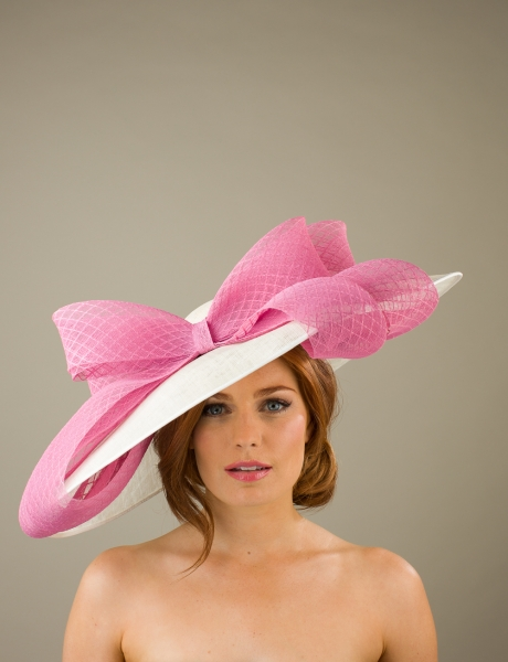 Warwick Dish Hat by Hostie Hats
