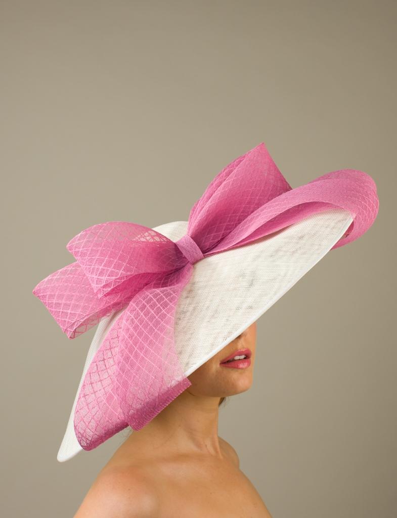 Warwick Dish Hat by Hostie Hats