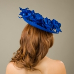 Wigmore Dish hat by Hostie Hats