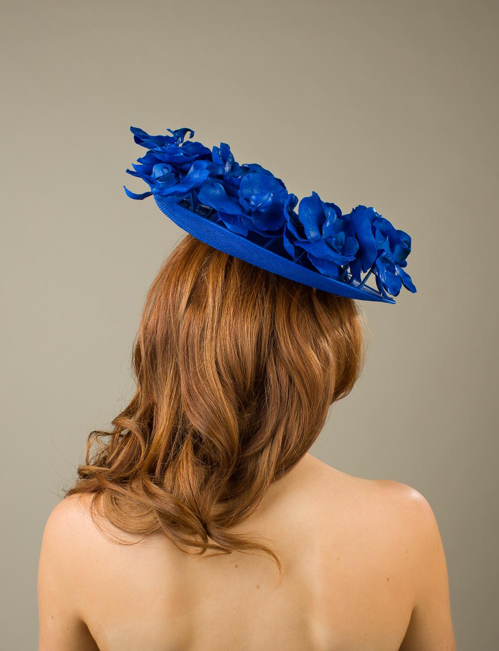 Wigmore Dish hat by Hostie Hats