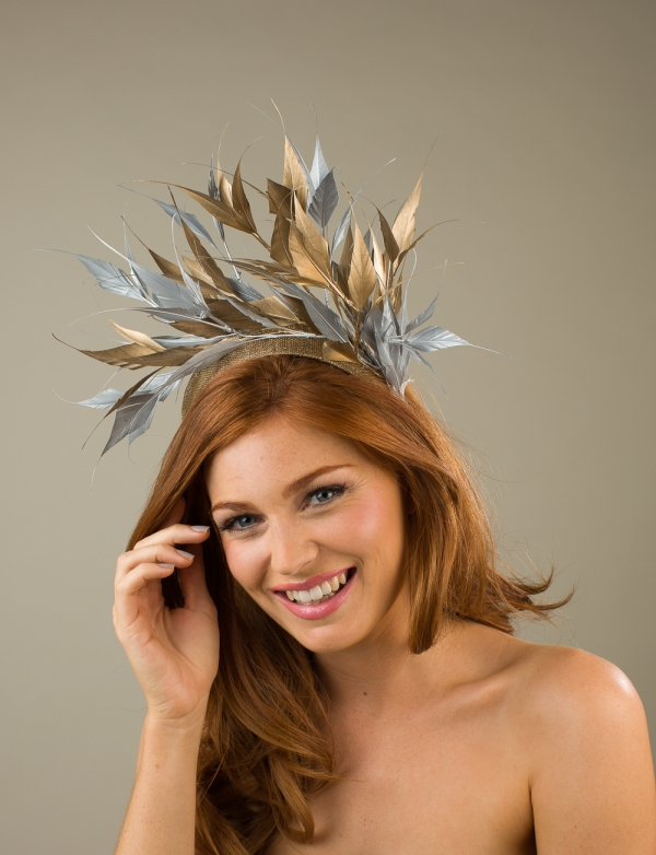 Wilton Fascinator by Hostie Hats