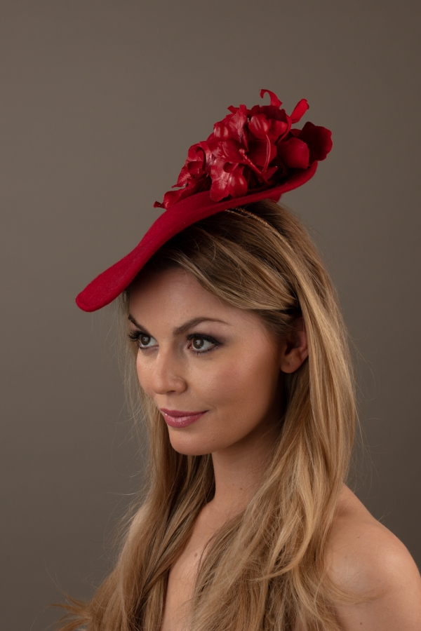 Laurent Dish Hat Hostie Hats