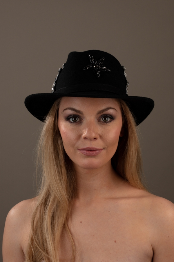 Reisling Fedora hat Hostie Hat