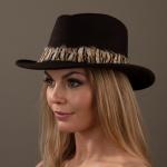 Cabernet Fedora Hat Hostie Hats