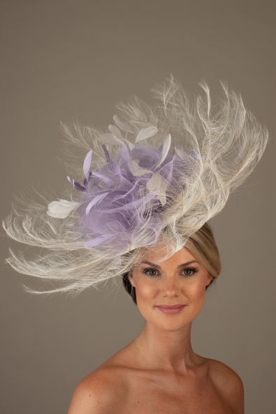 Camargue Fascinator Hostie Hat