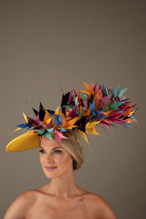 Riviera Dish Hat Hostie Hats