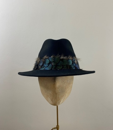 Ready to wear Aquarius fedora hat
