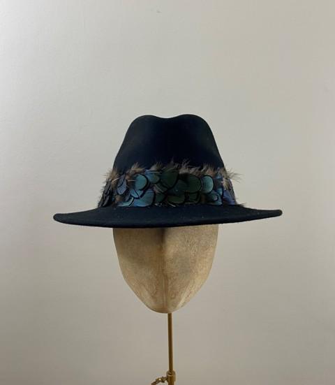 Ready to wear Aquarius fedora hat