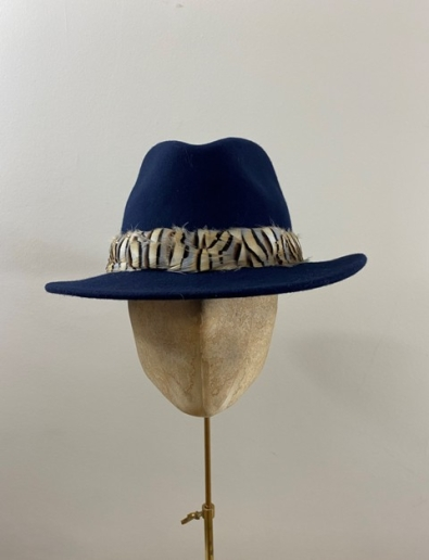 Ready to Wear Cabernet Fedora hat