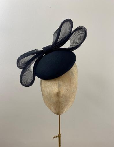 Ready to Wear Rioja Pillbox hat black